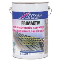 Grund pentru metal Kober Primactiv, interior / exterior, galben, 6 L