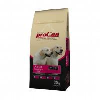 Hrana uscata pentru caini, ProCan Prestigio, adult, carne de vita, 20kg