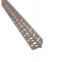 Profil de colt, din PVC, cu muchie dreapta, 21 x 21 x 2500 mm