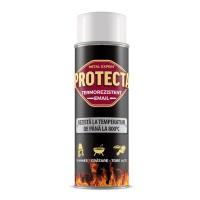Spray email termorezistent Protecta, alb, 400 ml