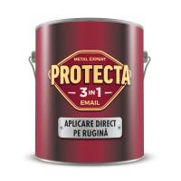 Vopsea alchidica pentru metal, Protecta 3 in 1, interior / exterior, visinie, 2.5 L