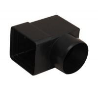 Racord patrat-rotund Arco D100 mm