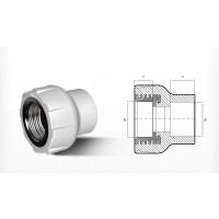 Racord PPR, FI, 50 mm x 1 1/2 inch