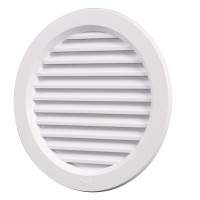 Rama aerisire rotunda, pentru ventilatia incaperilor, Bellplast,  D 100 mm