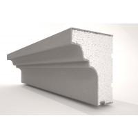 Solbanc / pervaz din polistiren expandat REFA10, exterior, 2000 x 100 x 125 mm