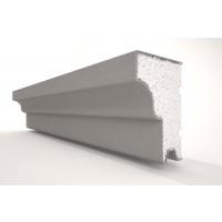 Solbanc / pervaz din polistiren expandat REFA12, exterior, 2000 x 60 x 90 mm