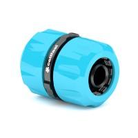 Cupla imbinare 2 furtunuri Cell Fast 50-610, plastic, 1/2 - 3/4 inch