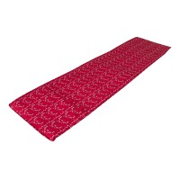Saltea pliabila Bedora, pentru plaja, textil, rosu, 50 x 175 cm