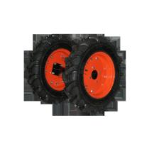 Roti cauciuc cu manicot pentru motocultor Ruris TS103, 400 x 8 (1 bucata = 1 set 2 roti)