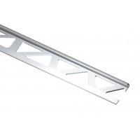 Profil aluminiu de colt exterior rotund pentru gresie si faianta, S53, bronz, 10 x 2500 mm