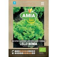 Seminte legume bio Amia, salata creata Lollo Bionda