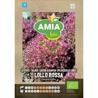 Seminte legume bio Amia, salata Lollo Rossa