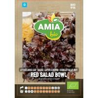 Seminte legume bio Amia, salata Red Bowl