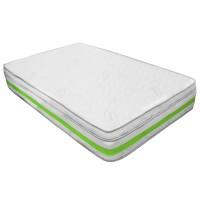 Saltea pat Prestige Max Confort Memory Plus, 1 persoana, cu spuma poliuretanica + memory, cu arcuri, 90 x 190 cm