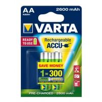 Acumulator Varta Profesional 5716, R6 ( AA ), 1.2V, 2600 mAh, 2 buc