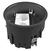 Doza aparat cu priza dubla cu contact de protectie OBO GES R2 7408832, 131 x 85 mm
