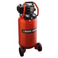 Compresor aer cu piston, fara ulei, Black&Decker 227/50V-NK, 1.5 Kw, 2 CP, 50 litri