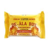 Sapun solid De-Ala Bun, galbenele, 90 g