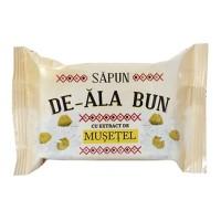 Sapun solid De-Ala Bun, musetel, 90 g