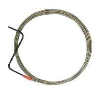 Cablu pentru desfundat canale, D 6 mm, 6 ML