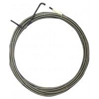 Cablu pentru desfundat canale, D 6 mm, 5 ml