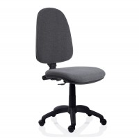 Scaun birou ergonomic Golf, rotativ, stofa C13, gri inchis