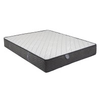 Saltea pat Ideal Sleep Elite, superortopedica, 100 x 200 cm, 1 persoana, cu arcuri + spuma poliuretanica