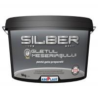 Gletul meseriasului Adeplast Silber, pe baza de rasini sintetice, interior, 9 kg