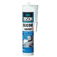 Silicon sanitar, gri, Bison, interior / exterior, 280 ml