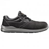 Pantofi de protectie Silver Fob, cu bombeu metalic, piele, gri, S1 SRC, marimea 43
