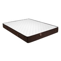 Saltea pat Ideal Sleep, superortopedica, 90 x 200 cm, 1 persoana, cu arcuri + spuma poliuretanica