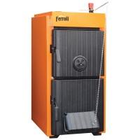Cazan termic pe lemne, carbune Ferroli SLK Pro 4, cu ardere normala, din fonta, 24/27 kW, 4 elementi
