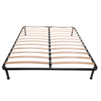 Somiera cu cadru metalic si lamele elastice, 160 x 190 cm
