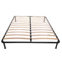 Somiera cu cadru metalic si lamele elastice, 160 x 200 cm