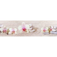Panou decorativ bucatarie Splashback, compozit, luminescent, SPB 023, floral, 2000 x 750 x 3 mm