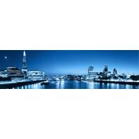 Panou decorativ bucatarie Splashback, compozit, luminescent, SPB 024, urban, 2000 x 750 x 3 mm