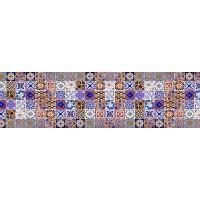 Panou decorativ bucatarie Splashback, compozit, luminescent, SPB 029, mozaic, 2000 x 600 x 3 mm