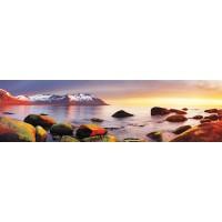 Panou decorativ bucatarie Splashback, compozit, luminescent, SPB 030, peisaj, 2000 x 600 x 3 mm