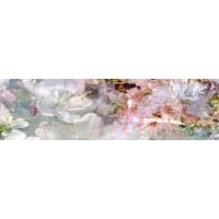 Panou decorativ bucatarie Splashback, compozit, luminescent, SPB 031, flori, 2000 x 600 x 3 mm