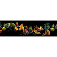 Panou decorativ bucatarie Splashback, compozit, luminescent, SPB 074, fructe, 2000 x 600 x 3 mm