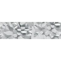 Panou decorativ bucatarie Splashback, compozit, luminescent, SPB 079, pietre, 2000 x 600 x 3 mm