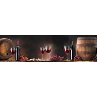 Panou decorativ bucatarie Splashback, compozit, luminescent, SPB 081, bar, 2000 x 600 x 3 mm