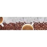 Panou decorativ bucatarie Splashback, compozit, luminescent, SPB 082, boabe cafea, 2000 x 750 x 3 mm