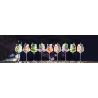 Panou decorativ bucatarie Splashback, compozit, luminescent, SPB 084, cocktails, 2600 x 600 x 3 mm