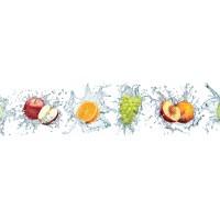Panou decorativ bucatarie Splashback, compozit, luminescent, SPB 086, fructe, 2000 x 600 x 3 mm