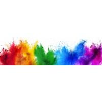 Panou decorativ bucatarie Splashback, compozit, luminescent, SPB 089, multicolor, 2000 x 600 x 3 mm
