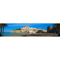 Panou decorativ bucatarie Splashback, compozit, luminescent, SPB 078, peisaj, 4000 x 600 x 3 mm