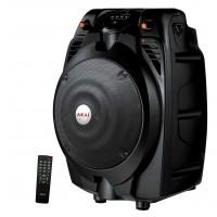 Boxa portabila activa Akai SS022A-X6, 30 W RMS, Bluetooth, USB, SD card reader, microfon, telecomanda, neagra