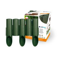 Separator gazon Cell Fast Palisada, plastic, verde, 25.5 cm x 2.1m