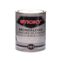 Vopsea alchidica pentru metal Sticky, interior / exterior, rosu oxid, 2.5 L